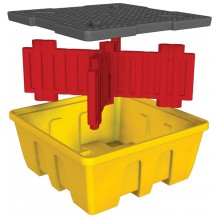 Single Stackable IBC Bund (With Platform)