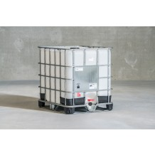 New 1000ltr IBC container steel pallet UN approved