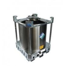 PCI1000 - UN Approved Stainless Steel IBC. For Hazardous & Non-Hazardous Liquids