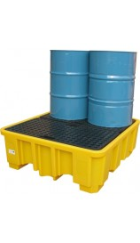 Large Drum Bund (With Platform) - Yellow