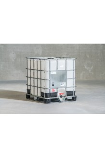 1000ltr  Standard  Large Lid Reconditioned IBC steel pallet