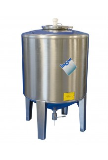 MTFC 1000 Stainless Conical Tank
