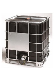 Rebottled Black IBC steel pallet standard