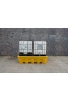 Double Stackable IBC Bund (With Platform)