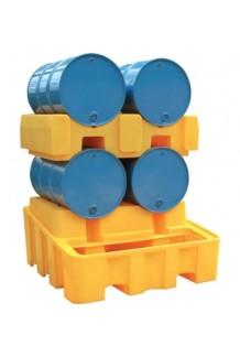 Horizontal Double Drum Bund with dispenser