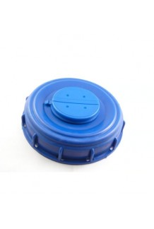 "IBC lid 150mm (6"") + breather in-out vent"
