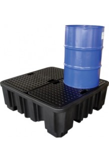 Large Drum Bund (With Platform) - Black