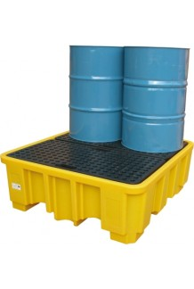 Large Drum Bund (With Platform) - Yellow