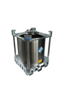 PCI1000 - UN Approved Stainless Steel IBC. For Hazardous & Non-Hazardous Liquids