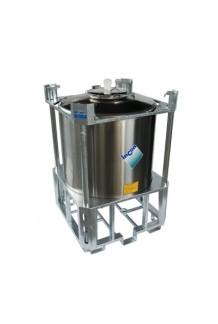 PFCI1000 Stainless Steel IBC. For Powders & High Viscosity Liquids